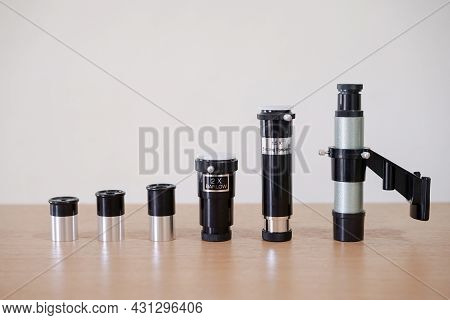 Okuler Eyepieces Telescope Lenses, Finderscope, Barlow 2x, And Image Erector For Astronomy Planets O