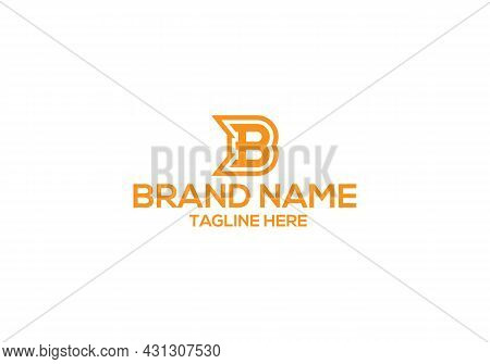 B Letter Logo Design And Minimalist B Letter Logo