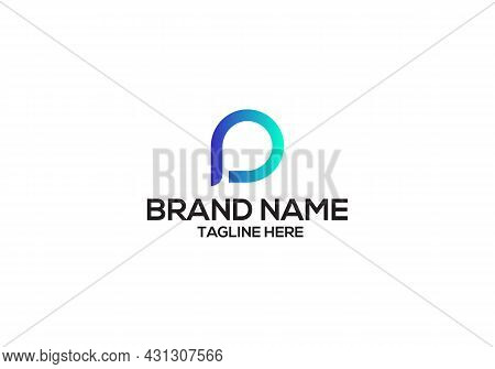 P Letter Logo Design And Minimalist P Letter Logo