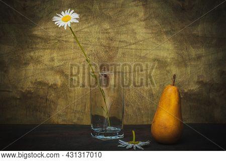 Still Life- Art Style. Flower- Creative Decoration