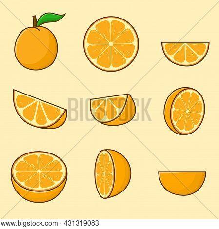 9 Orange Fruit