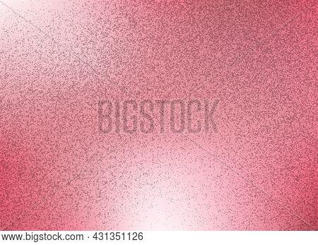 Rose Metallic Sparkling Texture. Copper Metal Foil Pixel Sparkle Texture, Pink Gold Shiny Glam Glitt