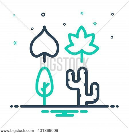 Mix Icon For Species Category Breed Leaf Nature Kind Type Plant Environmental Ecology Conservation