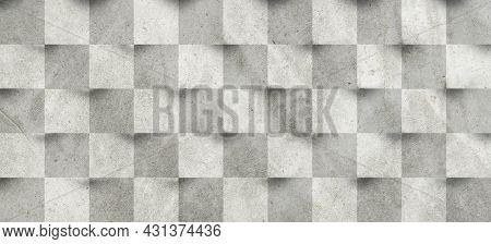 Plaster Or Gypsum Cement Wall Grunge Texture Background.