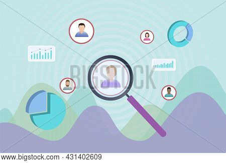Target Audience Portrait - Segmentation, Targeting And Positioning Stp Digital Marketing Strategy. S
