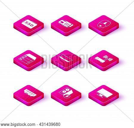 Set Ram, Random Access Memory, Case Of Computer, Server, Data, Web Hosting, Laptop, Computer Monitor