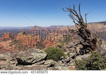Sedona Arizona Schnebly Hill Vista Overlook May 2021