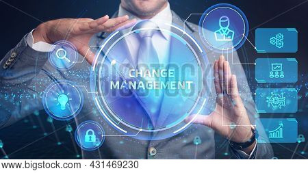 Change Management, Business Concept. Business, Technology, Internet And Network Concept