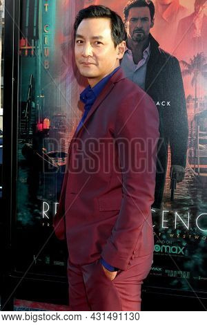 LOS ANGELES - AUG 17:  Daniel Wu at the Reminiscence Los Angeles Premiere at the TCL Chinese Theater IMAX on August 17, 2021 in Los Angeles, CA