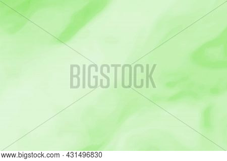 Abstract Green Watercolor Gradient Background. Light Texture Pattern Design In Pastel Color For Wall