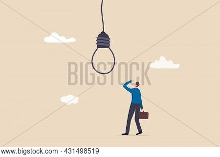 Business Risk Or Challenge, Mistake Or Failure, Bad And Stupid Idea Or Self Sabotage, Business Trap