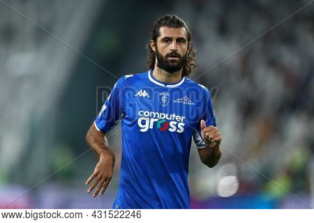 Torino, Italy. 28 August 2021. Sebastiano Luperto Of Empoli Fc  Looks On During The Serie A Match Be