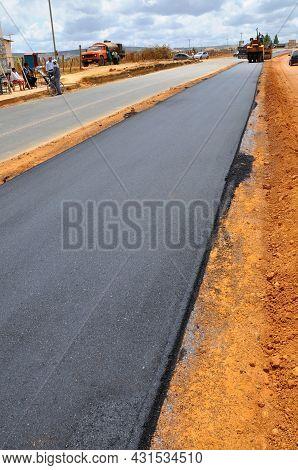 Asphalt Track Construction