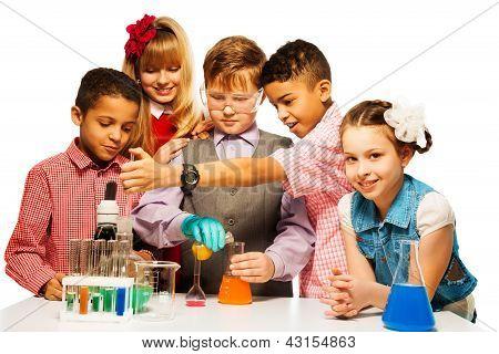 Enjoyment In Chemistry Class
