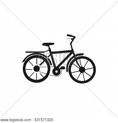 Bicycle Simple Icon. Bicycle Line Vector Icon.