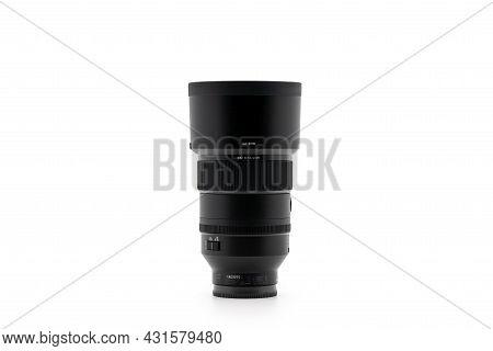 Bangkok, Thailand - 15 Dec 2020, Sony G-master Lens Fe135mm F1.8 Gm, F1.8, The Telephoto Prime, Isol