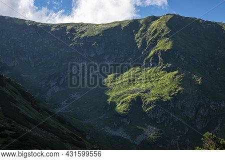 Rackova Valley, Western Tatras Mountains, Slovak Republic. Hiking Theme.