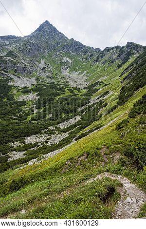 Jahnaci Peak, High Tatras Mountains, Slovakia Republic. Seasonal Natural Scene. Travel Destination.