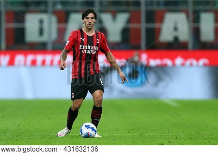 Milano, Italy.  29 August 2021. Sandro Tonali Of Ac Milan  During The Serie A Match Between Ac Milan