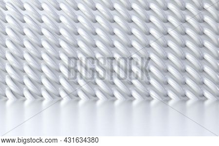 Technology And Elegant White And Grey Shapes Background.abstract White Pattern Of Geometric Shapes.3