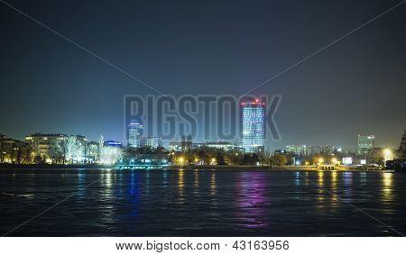 Bucharest cityscape