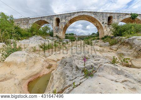 The Julien Bridge, A Roman Bridge In The Luberon.