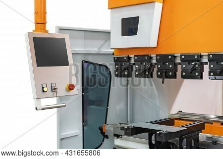 Intelligent Control Panel Of Automatic And High Precision Hydraulic Press Bending Machine For Metal
