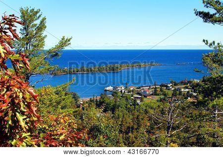 Brockway Mountain Drive Vista