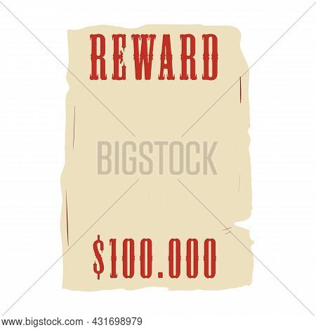 Social Story Template Of Wanted Dead Or Alive Placard