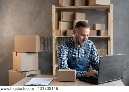 Small Business Aspiring Entrepreneur, Small And Medium Business Freelance Working In Home Office Usi
