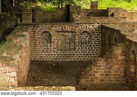 Roman Estate Villa Rustica, Wachenheim, Rhineland-palatinate, Germany