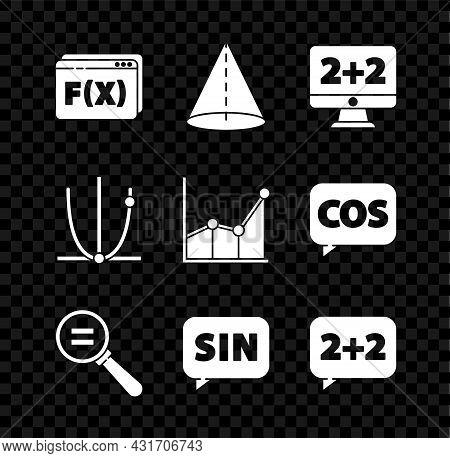 Set Function Mathematical Symbol, Geometric Figure Cone, Equation Solution, Calculation, Mathematics