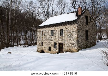 Old Restored Mill - New England