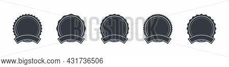 Badge And Labels. Sale Or Discount Sticker, Sunburst Badges Icons. Starburst Promotional Badge Set.