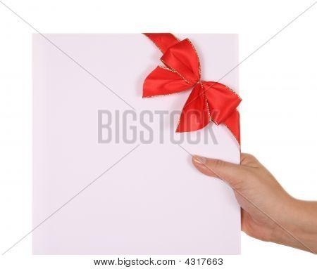 Gift And Ribbon