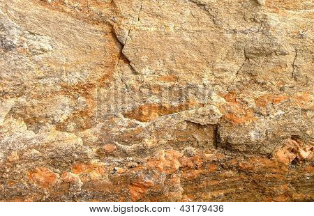 orange rock background