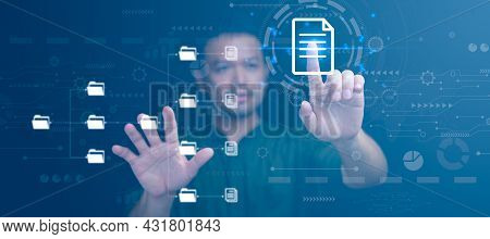 Document Management System (dms), Online Documentation Database And Process Automation To Efficientl