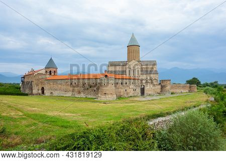 Alaverdi Monastery - Georgian Eastern Orthodox Monastery In Kakhetia Region. Georgia