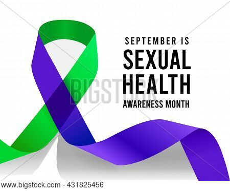 September Is Sexual Health Awareness Month. Vector Illustration