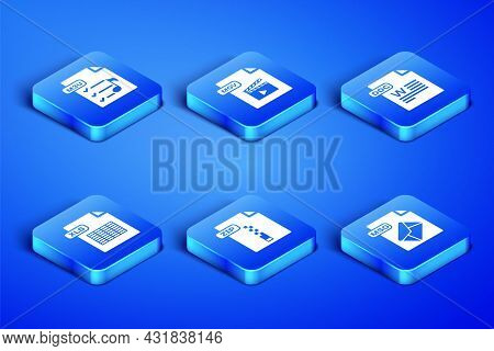 Set Msg File Document, M3u, Zip, Xls, Mov And Doc Icon. Vector