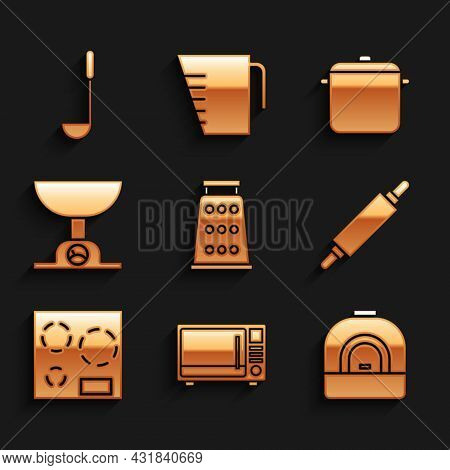 Set Grater, Microwave Oven, Oven, Rolling Pin, Electric Stove, Electronic Scales, Cooking Pot And Ki