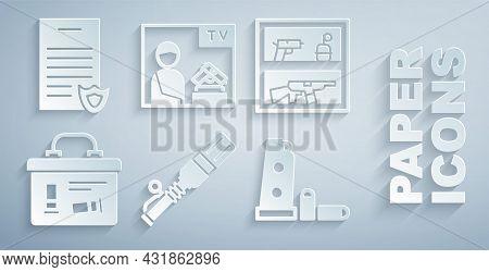 Set Anti-tank Hand Grenade, Hunting Shop Weapon, Military Ammunition Box, Gun Magazine Bullets, Adve