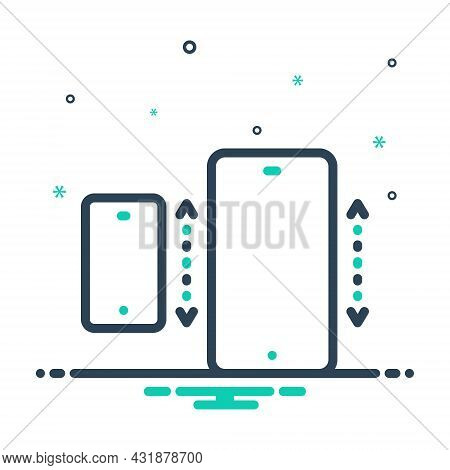 Mix Icon For Specifically Especially Exclusively Mainly Mobile Cellphone Technology Electronic Cellp