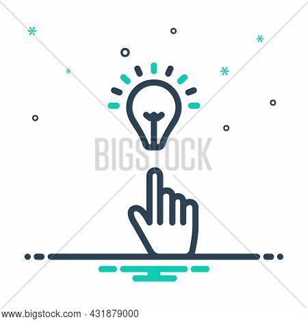 Mix Icon For Intend Intend-for Make-ready Think Plan Select Decide Pick Preference