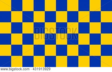 The Flag Of Surrey Is The Blue And Gold Chequered Flag Of The Traditional County Of Surrey And Is De