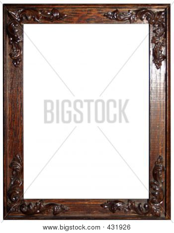 Ornate Wooden Picture Frame