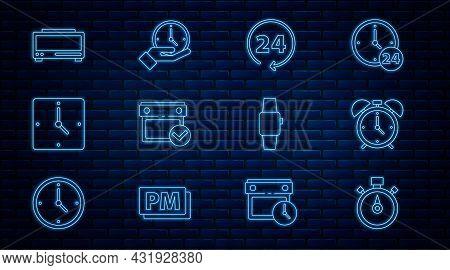 Set Line Stopwatch, Alarm Clock, Clock 24 Hours, Calendar With Check Mark, Digital Alarm, Smartwatch
