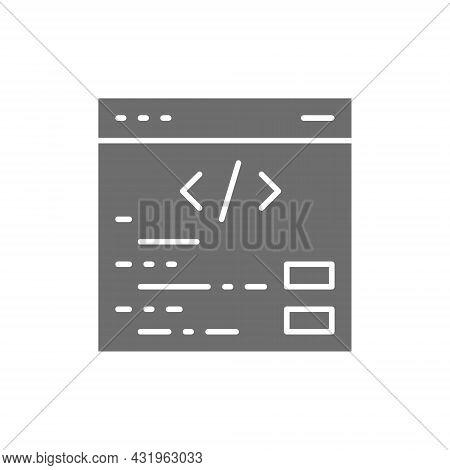 Search Engine Optimization, Webpage Repair, Internet Development, Seo Grey Icon.