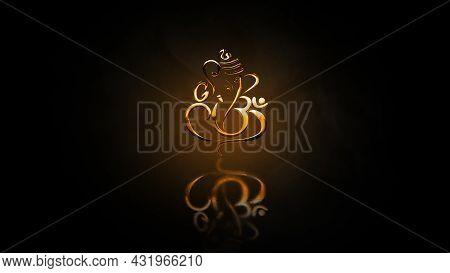 Lord Ganapathi Backgrounds, Lord Vinayaka Backgrounds, Hindu God Backgrounds