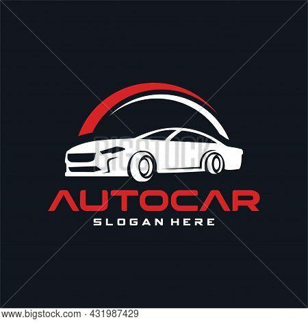 Car Automotive Logo Template Vector Illustration. Automotive Logo Vector Car Detailing Garage. Logo